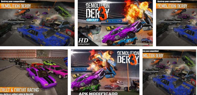 Demolition Derby 3 Apk Mod , Demolition Derby 3 Apk Download , New 2021*